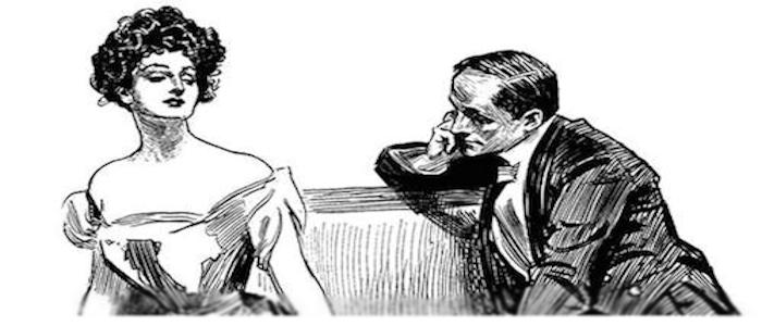 Irene Adler and Sherlock Holmes