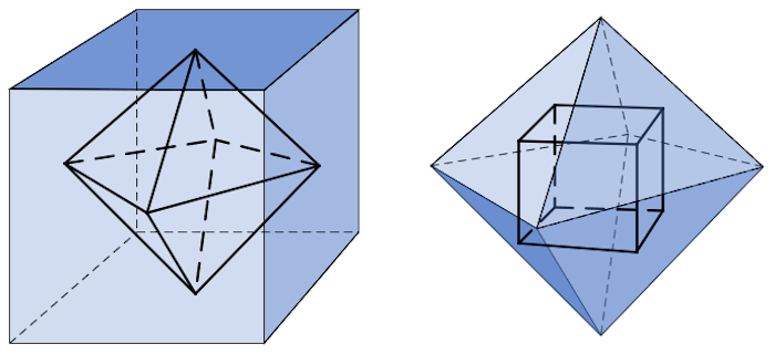 Cube and Octahedron