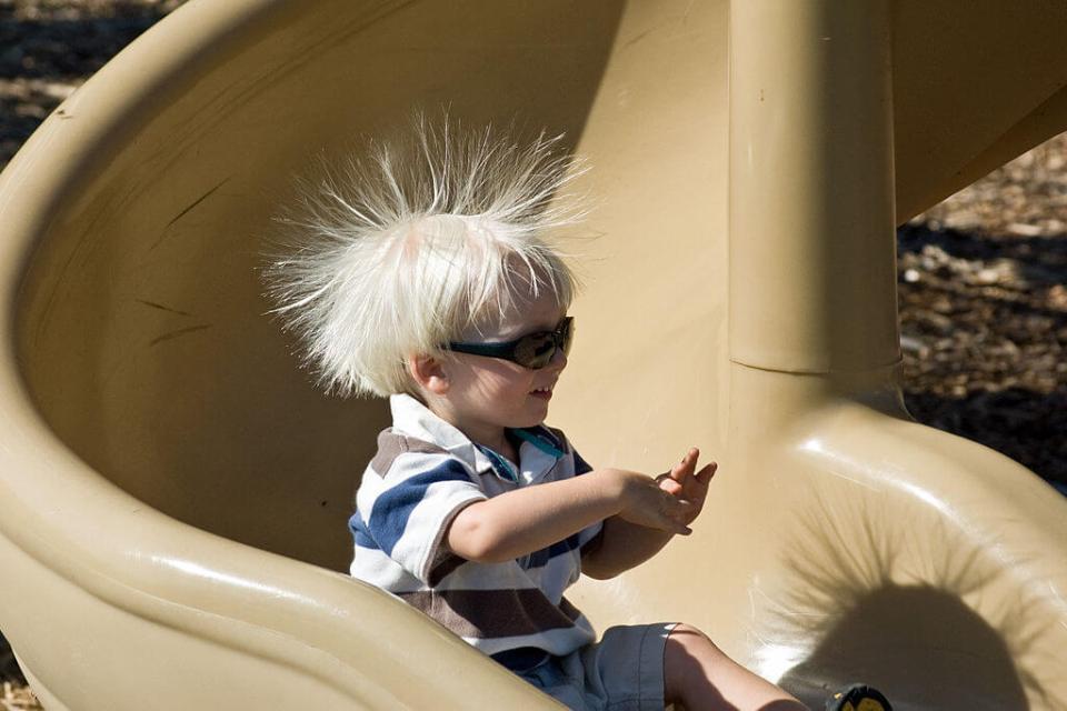 머리카락 정전기