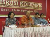 Tempat Pengasingan Bung Karno, Ende Flores. Diskusi Kolumni dalam Rangka Desiminasi dan Program Ende-Flores