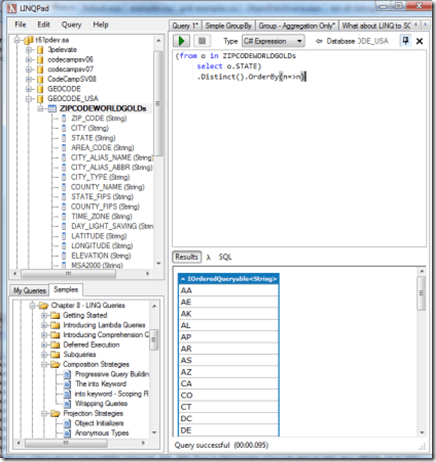 LINQPad is Totally Awesome at Testing and Writing LINQ