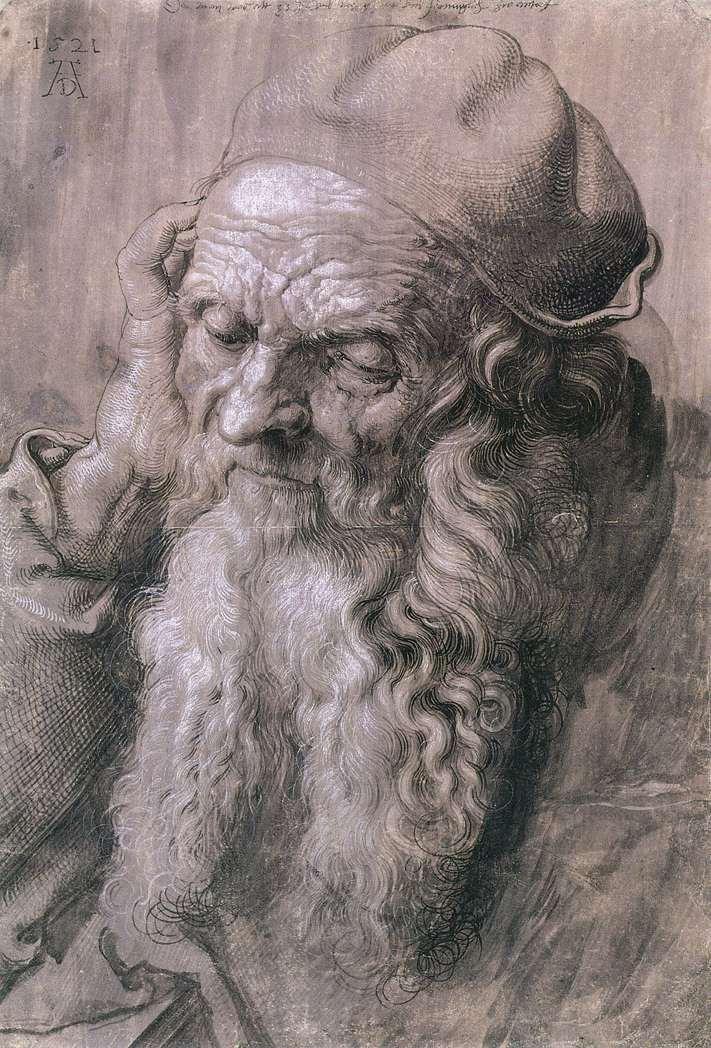 Durer,_study_of_a_man,_aged_93