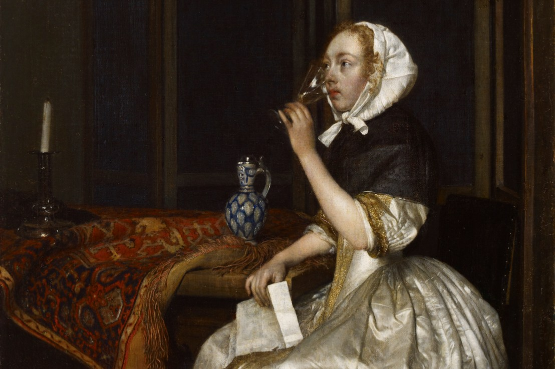 Gerard ter Borch (1617 – 1681) and writing letters.