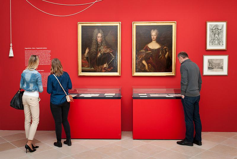 Ausstellung Schloss Hof Maria Theresia