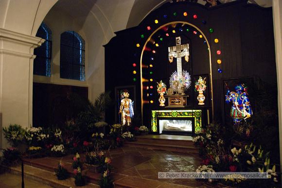 das Heilige Grab in Mondsee, Oberösterreich, Österreich