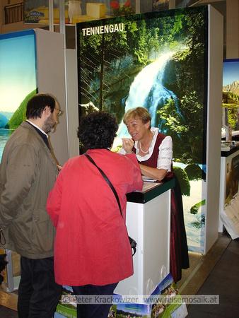 Gundi Schaber vom Tourismusverband Bad Vigaun