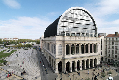 Bild zum Vergrößern anklicken: Opéra National de Lyon [(c) Franchella Stofleth, Atout France Wien]