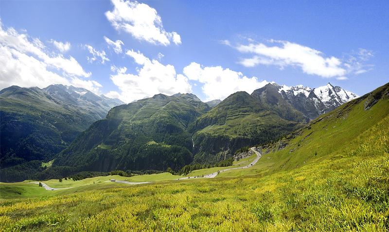 Glocknerwiesen Gletscherstraße Großglockner