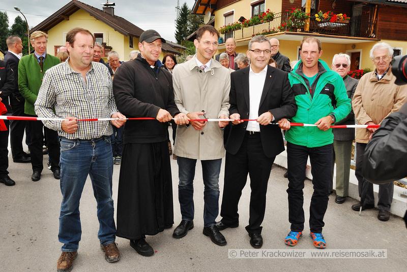 Eröffnung der Wallbachbrücke in Neumarkt am Wallersee
