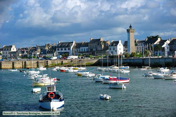 Roscoff Frankreich Bretagne