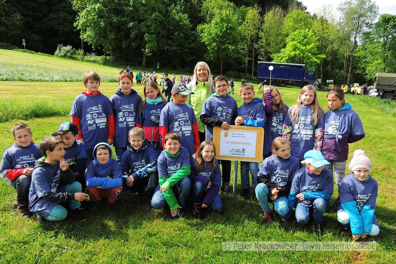 Kindersicherheitsolympiade 2014 am Wallersee
