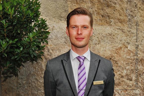 Hotel Schloss Mönchstein, Wolfgang Holzinger, Maître d'Hôtel