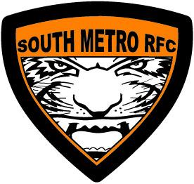 south metro rfc tiger vector
