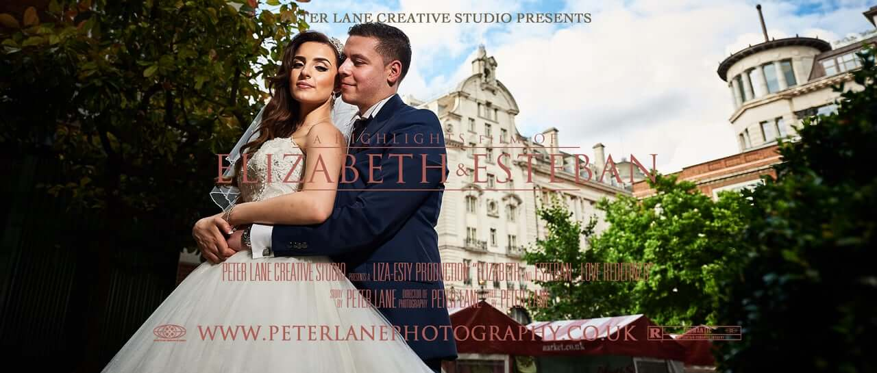 Greek Colombian Wedding - Le Meridian London wedding videographer london - videography