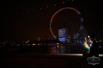 Pre wedding photographer London eye