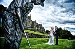 Wedding photographer Bovey castle