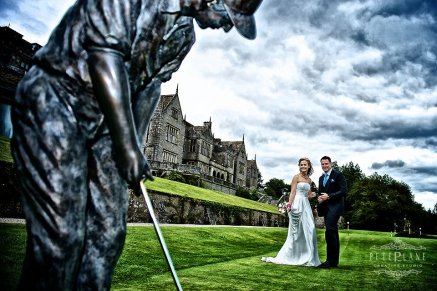 Wedding photographer Bovey castle
