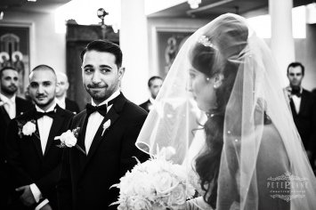 Documentary wedding photographer London bride and groom first look
