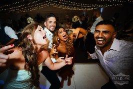 Greek wedding photographer London girls singing