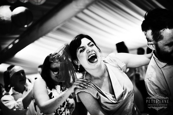 Jewish wedding photographer girls dancing