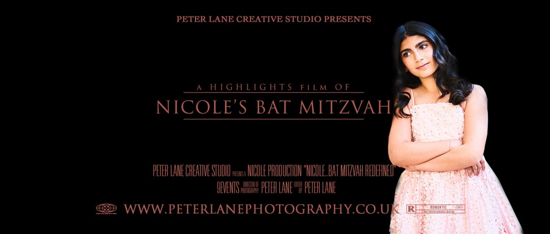 Bar Mitzvah photographer videographer Montcalm London