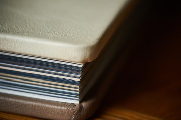 luxury wedding album coloured pages