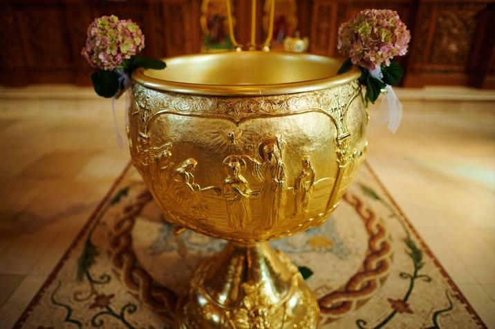 London orthodox baptism photographer