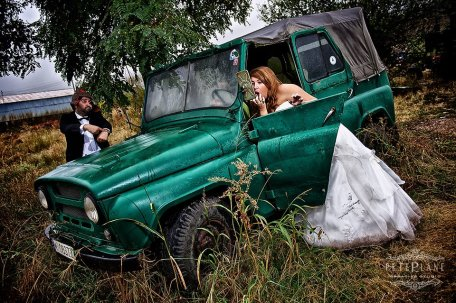Trash the dress photographer New York