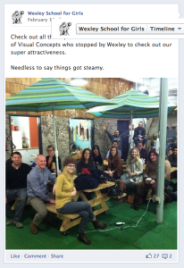 Wexley School for Girls facebook