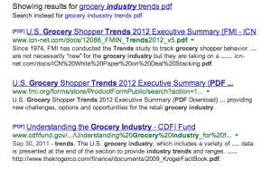 grocery indusstry trends pdf   Google Search
