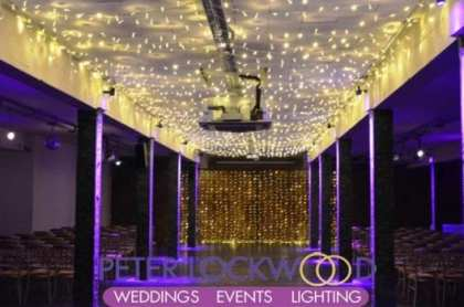 Wedding Aisle Lighting