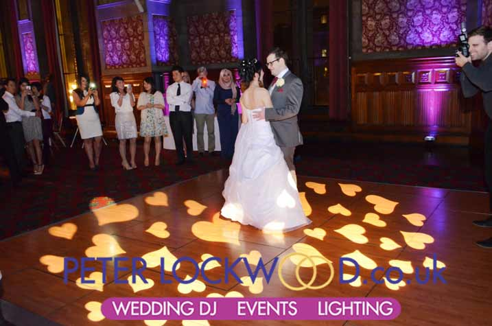 Lancashire And Cheshire Wedding Uplighting Hire From Peter