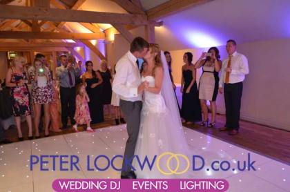 wedding-lighting-and-wedding-first-dance-in-the-white-hart-saddleworth
