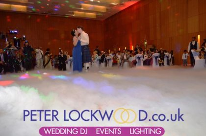 wedding-first-dance-in-the-clouds-at-the-hilton-manchester
