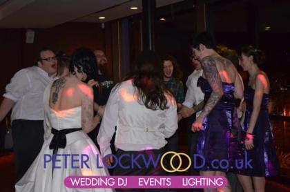 Merchant Room wedding disco