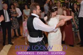 Wedding DJ in the lowry theater manchester