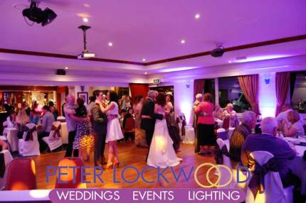 Saddleworth Golf Club Wedding DJ
