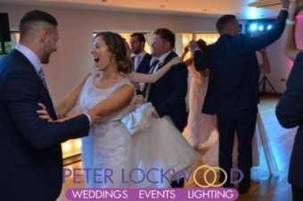 Fishermans Retreat Wedding guests dancing