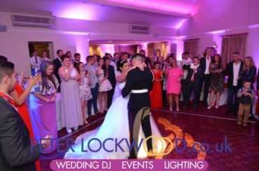 red hall wedding dj