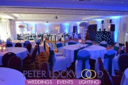 blue-wedding-lighting-in-the-worsley-suite-at-worsley-marriott