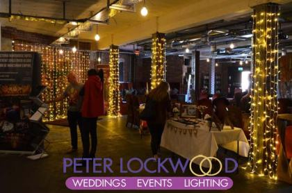 Victoria Warehouse Wedding Lighting
