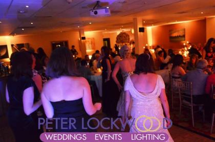 wedding guests dancing in the Worsley Park Marriott