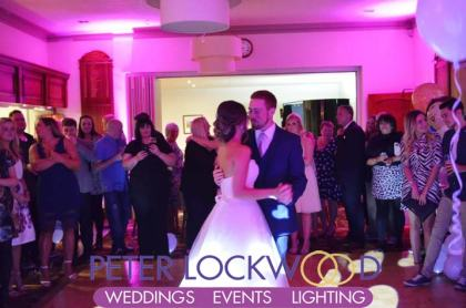 Crompton and Royton Golf Club Wedding DJ
