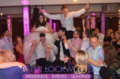 the bays manchester wedding dj