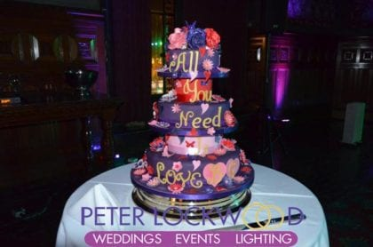 Manchester Town Hall Wedding Cake