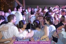 busy wedding dancefloor