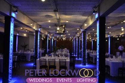 victoria warehouse festoon lighting hire