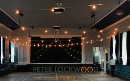Wedding Festoon Lighting Hire