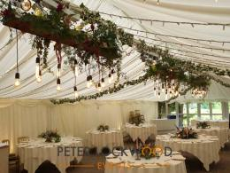 Inn at Whitewell Wedding Lighting