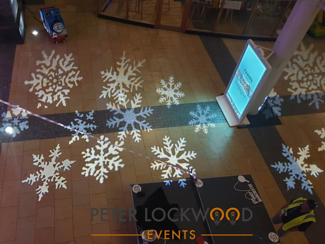 snowflake gobos projection